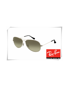 Ray Ban RB3362 Cockpit Sunglasses Gunmetal Frame Crystal Grey Gradient Lens