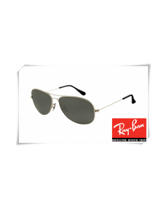 Ray Ban RB3362 Cockpit Sunglasses Gunmetal Frame Crystal Grey Lens