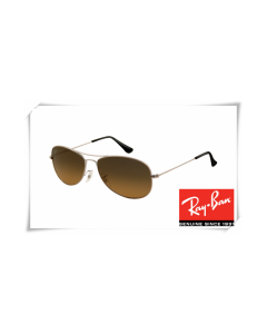 Ray Ban RB3362 Cockpit Sunglasses Gunmetal Frame Brown Gradient Lens