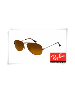 Ray Ban RB3362 Cockpit Sunglasses Dark Brown Frame Brown Lens